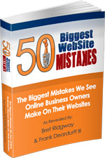 50 Biggest Website Mistakes