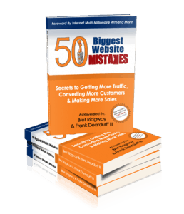 Frank Deardurff's - 50 Biggest Website Mistakes