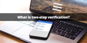 two-step verification for security